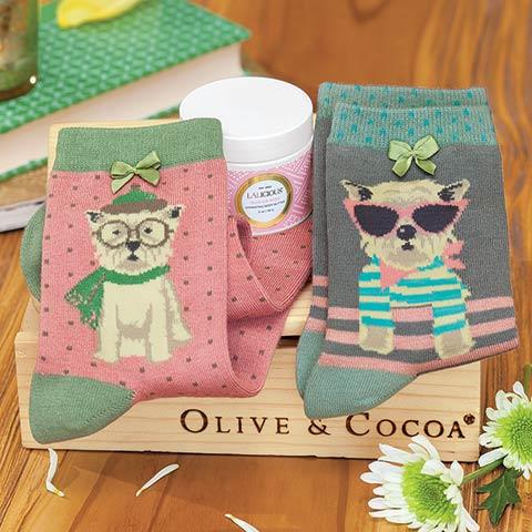 Fashionable Dogs Socks Set