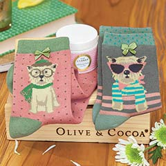 Fashionable Dogs Socks Set