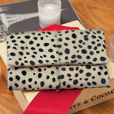 Rosendale Leopard Wallet