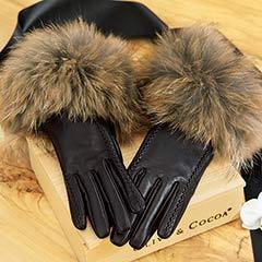 Noir Lambskin Gloves