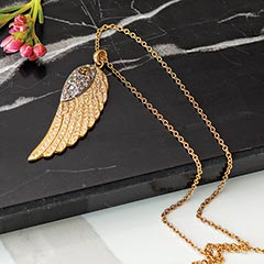 Winged Ethereal Necklace
