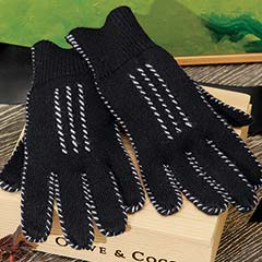 Cashmere Stitched Gloves