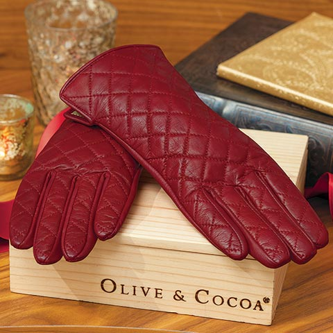 Cayenne Leather Gloves