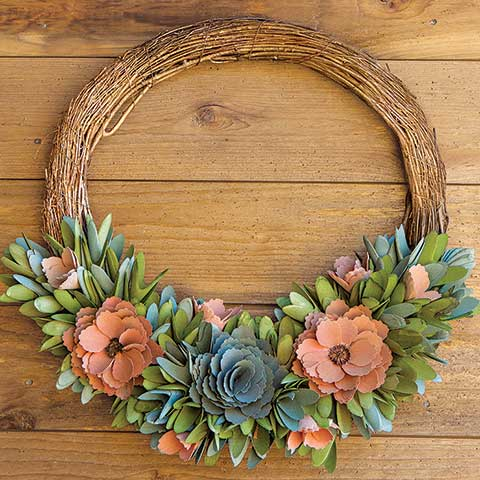 Artisan Spring Wreath