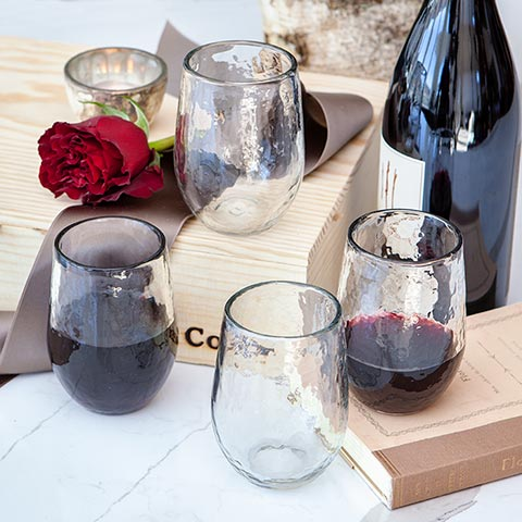 Bistro Stemless Glasses