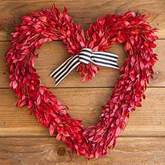 Myrtle Heart Wreath