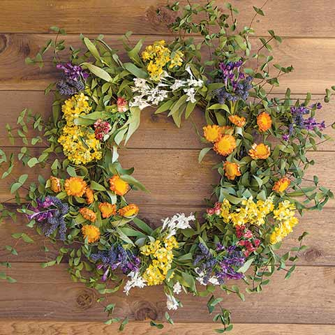 Lush Meadow Wreath