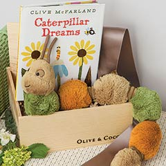 Fuzzy Caterpillar & Storybook