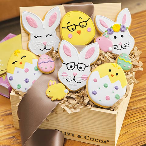 Bunny & Chick Cookies