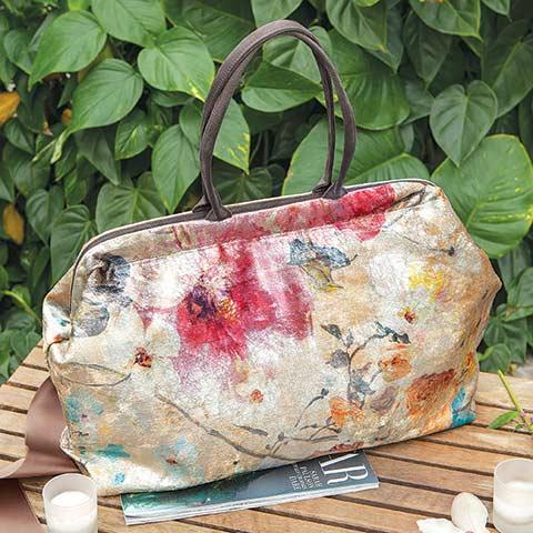 Velvet Fleur Handbag