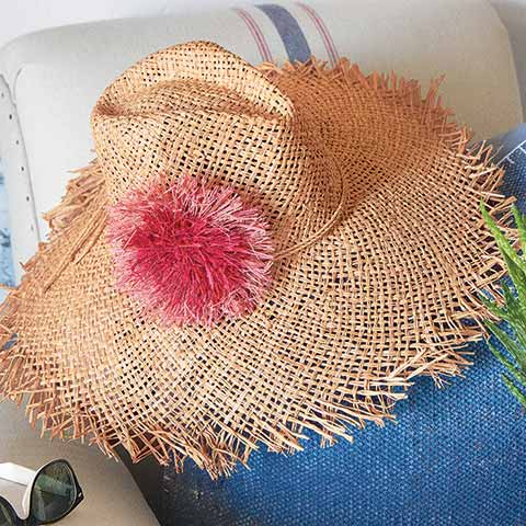 Pink Fleur Sunhat