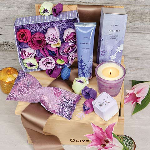 Lavender Oasis Spa Crate