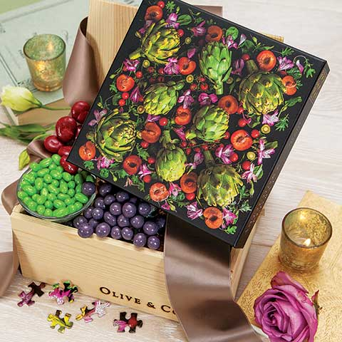 Jardin Puzzle & Treats