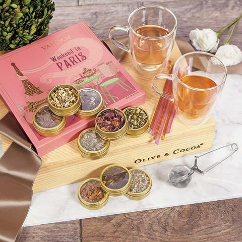 Parisian Tea Sampler Crate