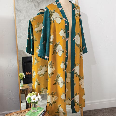 Fleur Royale Kimono