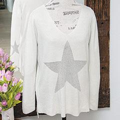 Glittering Star Sweater