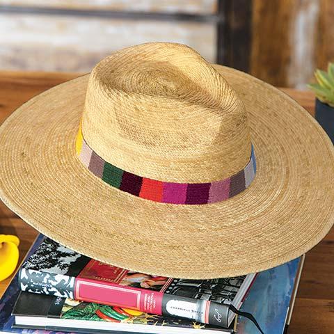 St. Maarten Palm Hat