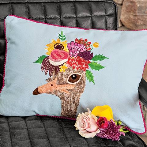 Aunt Matilda Ostrich Pillow