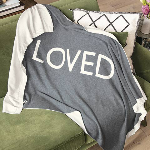 """""""Loved""""  Throw"""