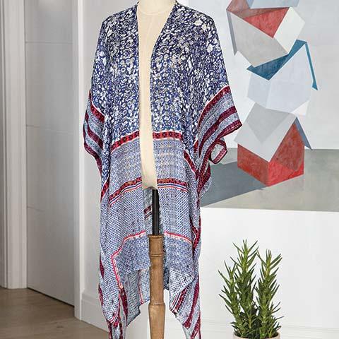 Tahoe Breeze Kimono
