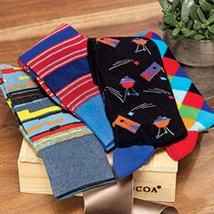 Backyard Socks Crate