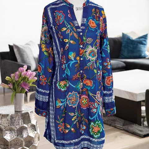 Bali Embroidered Tunic