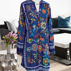 Bali Embroidered Tunic