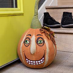 Dorian Pumpkin Doorstop