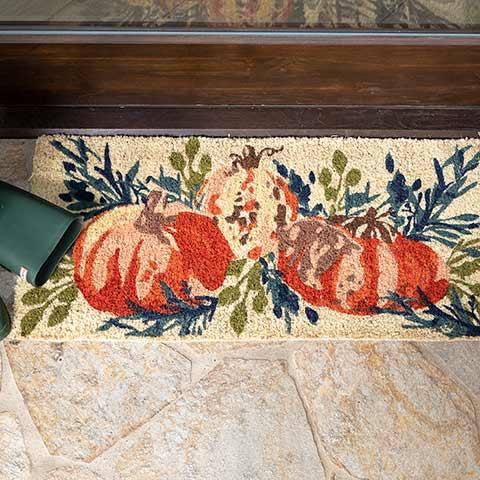 Auburn Pumpkin Estate Mat