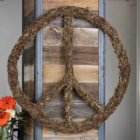 Grapevine Peace Sign