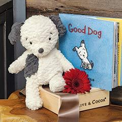 """Good Dog"" Toy & Storybook"