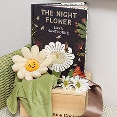 """Night Flower"" Book & Blankie"