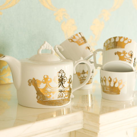 Regal Crown Tea Service