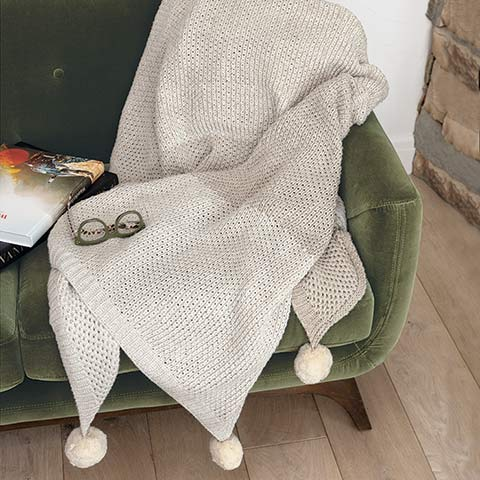 Cape Cod Organic Cotton Throw