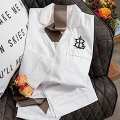 Regal Monogram Pajamas