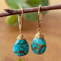 Santa Fe Turquoise Earrings