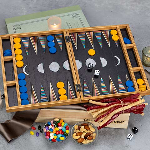 Backgammon & Treats