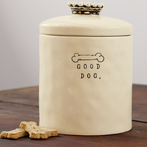 Good Dog Treat Jar All Gifts Olive Amp Cocoa