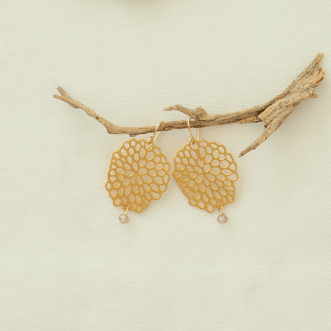 Honeycomb Earrings