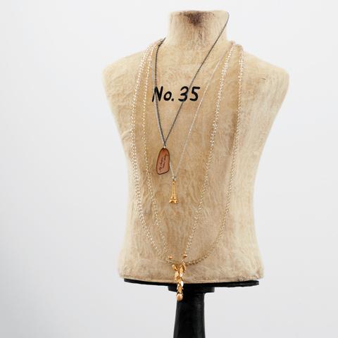 Vintage Dress Form Necklace Holder Olive Cocoa
