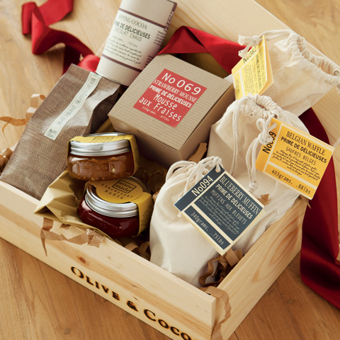 Gourmet Breakfast Crate All Gifts Olive Cocoa