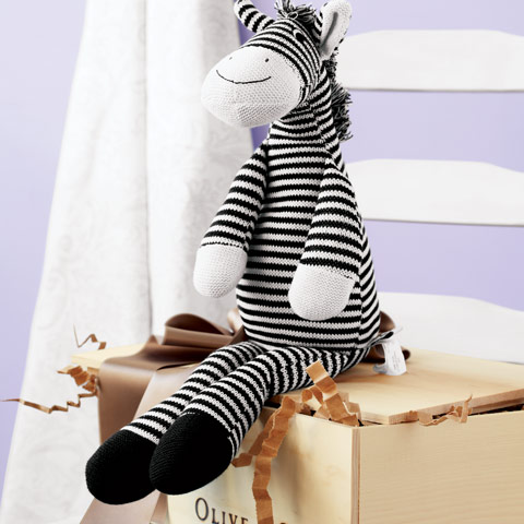 Yarn Knit Zebra