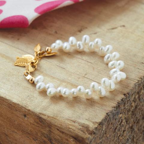 Clic Pearl Baby Bracelet