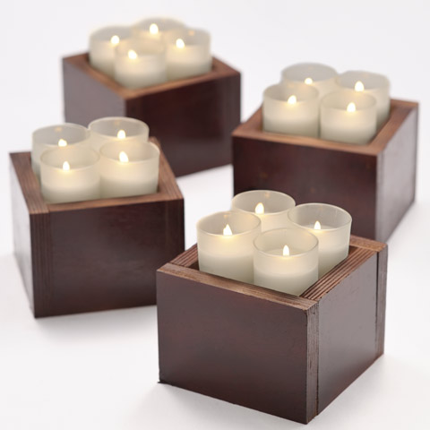 Elemental Votive Boxes
