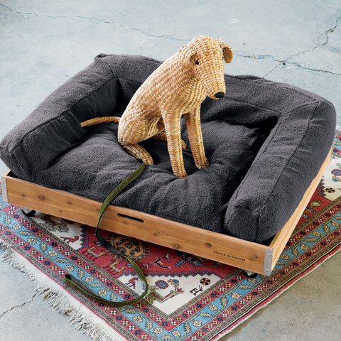 Emerson Grey Dog Bed