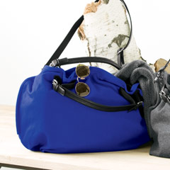 Hobo Slouch Bag, Royal Sapphire