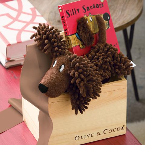 Silly Sausage Dog & Book