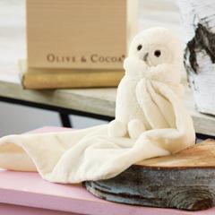 Snowy Owl Cuddler