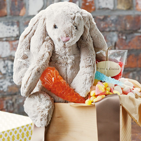 Cottontail Easter Crate