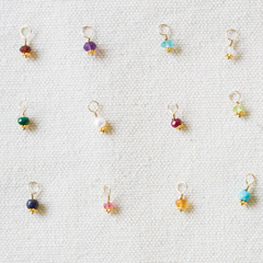 Gold Birthstone Charms